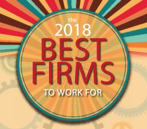 Consulting Magazine's 2018 Best Firms to Work For