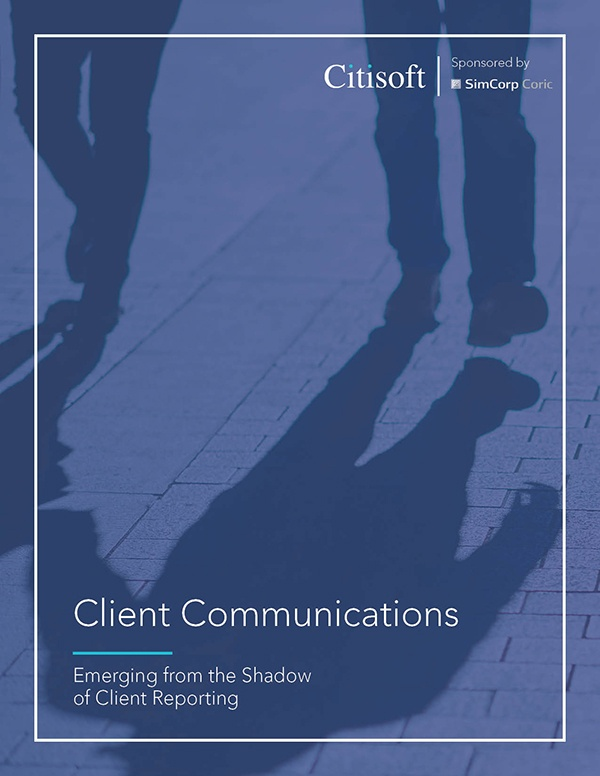 client reporting cover