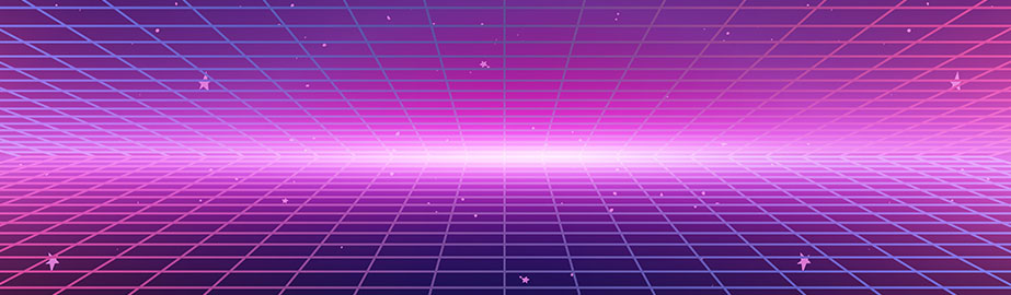 80s pink graphic